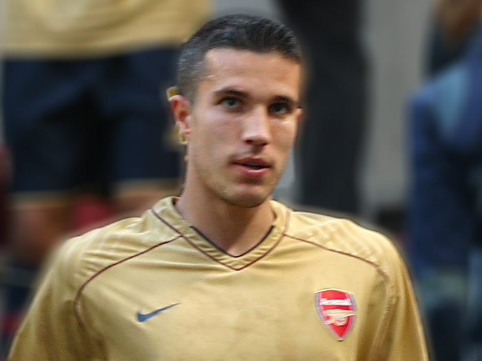 Manchester United signed RvP 18 months ago but it was at Arsenal that he made his name as a world class striker. A stop start season for RvP. But he's still amongst the best finishers in the game.