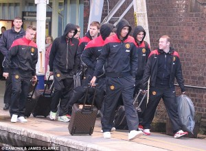 PICTURE: Manchester United star looks very unhappy