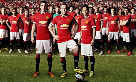 Manchester United's new kit
