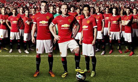 Manchester United's new kit
