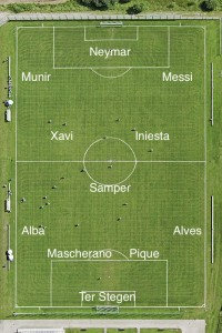 PICTURE: Barcelona's best XI vs Ajax