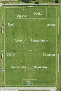 PICTURE: Silva Reportedly Out – Manchester City's best XI for the derby