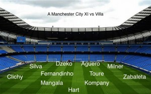 Picture: Manchester City's best XI vs Aston Villa