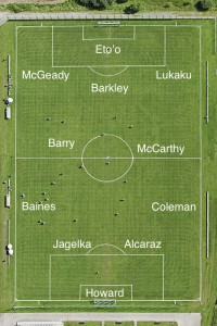 PICTURE: Everton's best XI vs Swansea with The Big Man starting
