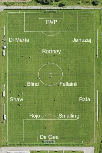PICTURE: A Manchester United XI to beat City – Roo n Rad back