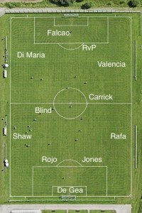 PICTURE: Manchester United's best XI vs Chelsea