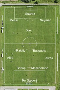 Barcelona's Best XI vs Almeria and injury update