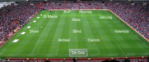 PIC: A Manchester United XI vs Palace with The Big Man, RvP and all out attack