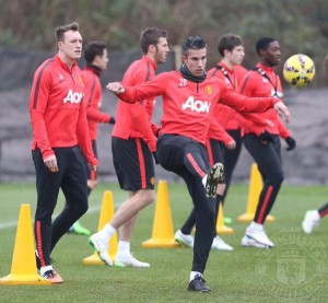 Manchester United: Striker talks held