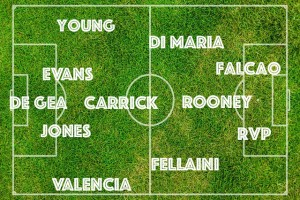 PICTURE: Manchester United's strongest and best XI vs Newcastle with Falcao blossoming in 4-4-2