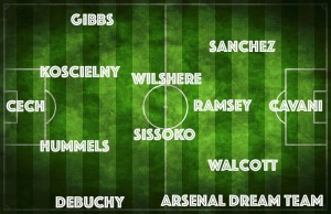 PICTURE: A Perfect Arsenal XI with Hummels, Cavani and new midfield gem