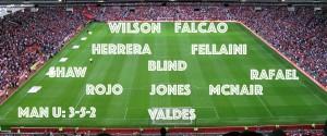 A realistic Manchester United XI vs Cambridge – gametime for Herrera and Rafa?