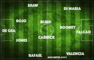 PICTURE: Manchester United's best XI vs QPR with a 4-2-3-1 and two superstars benched