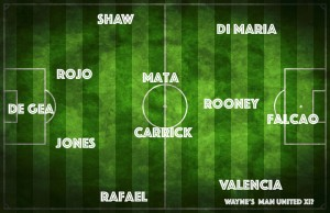 Wayne Rooney's preferred XI from the current squad of expensively assembled Manchester United players?