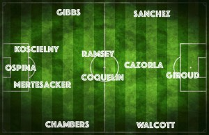 PICTURE: Arsenal's strongest XI vs Brighton with surprise starter, plus injury news