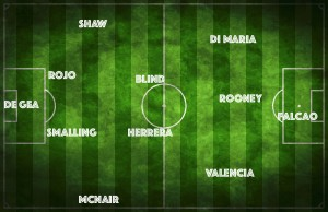 PICTURE: Manchester United's best XI vs Preston with Herrera running the midfield