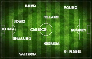 PICTURE: Di Maria or Mata? Manchester United's best XI vs Liverpool