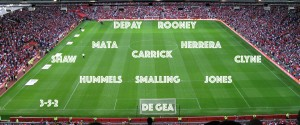 PICTURE: Possible Manchester United XIs with Memphis Depay