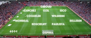 PICTURE: An Arsenal XI with Isco squeezed in