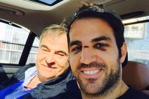 PICTURE: Chelsea superstar shows off his battle scars