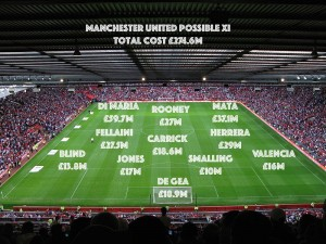 PICTURE: The Cost of Manchester United and Manchester City teams – Player by Player comparison