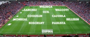 PICTURE: Arsenal's Best XI vs Sunderland to freshen things up