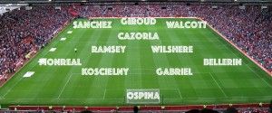 PICTURE: Arsenal's best available XI vs United
