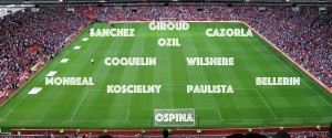 PICTURE: Arsenal's Best XI vs Swansea after Arsene's injury update