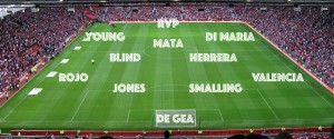 4-2-3-1: RvP and Angel in Manchester United's starting XI vs Arsenal after injury update?