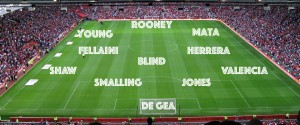 PICTURE: Confirmed Manchester United Team and Formation vs Palace
