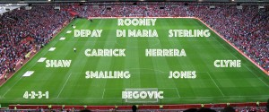 PICTURE: How Sterling would fit into the Manchester United XI