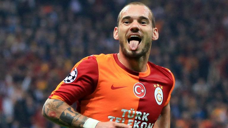 Galatasaray-v-FC-Copenhagen-Wesley-Sneijder_3023589