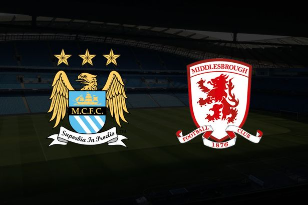 Man City v Middlesbrough